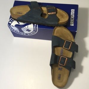 WMNS Birkenstock Arizona Suede Sandals